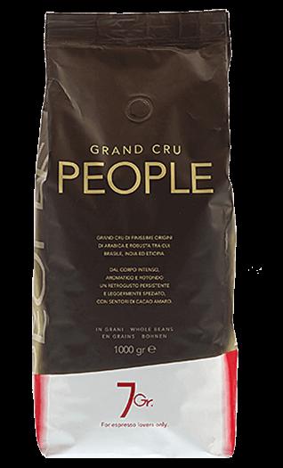 7Gr. Kaffee Espresso - People Grand Cru Bohnen 1kg
