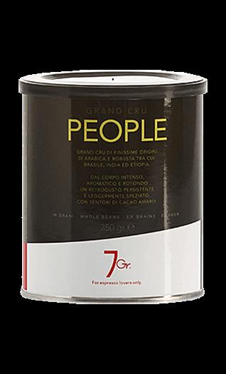 7Gr. Kaffee Espresso - People Grand Cru Bohnen 250g