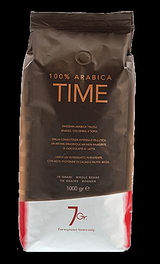 7Gr. Kaffee Espresso - Time 100% Arabica Bohnen 1kg