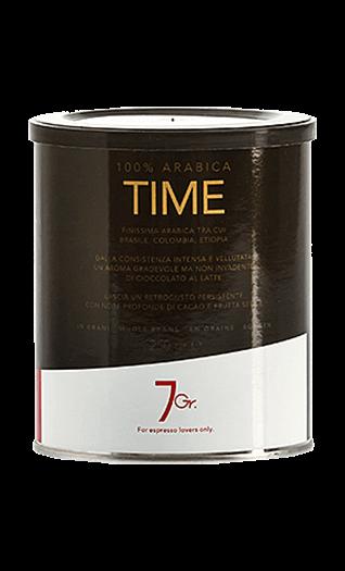 7Gr. Kaffee Espresso - Time 100% Arabica Bohnen 250g Dose