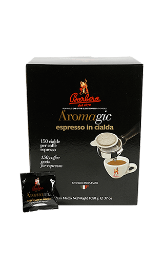 Barbera Caffe AroMagic Pads 150 Stück