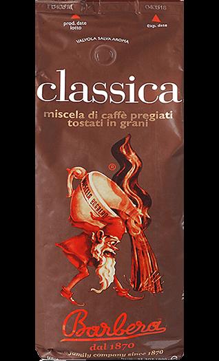 Barbera Caffe Classica Bohnen 1kg