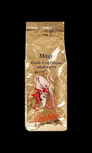 Barbera Caffe Mago Bohnen 250g