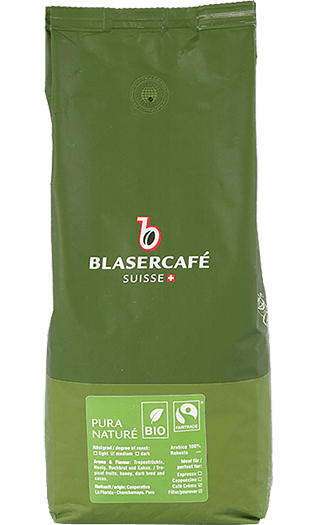 Blaser Kaffee Espresso - Pura Vida Bio Fairtrade Bohnen 1kg