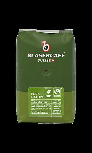 Blaser Kaffee Espresso - Pura Vida Bio Fairtrade Bohnen 250g