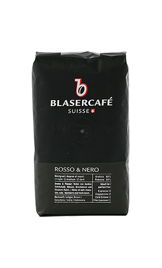 Blaser Kaffee Espresso - Rosso e Nero CSC Bohnen 250g