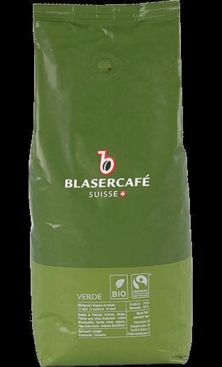 Blaser Kaffee Espresso - Verde BIO Fairtrade Bohnen 250g