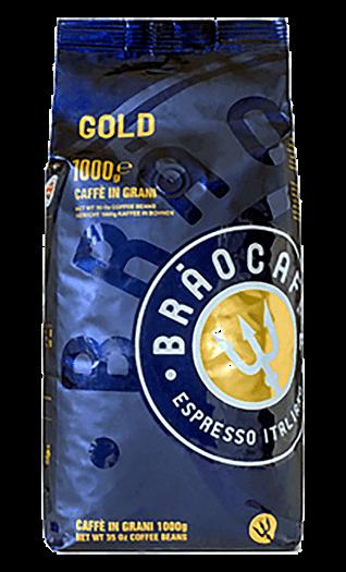 Brao Kaffee Espresso - Gold Bohnen 1kg