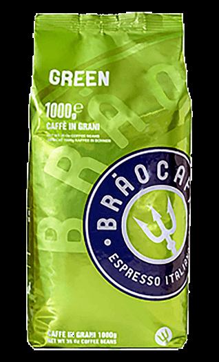 Brao Kaffee Espresso - Green Bohnen 1kg