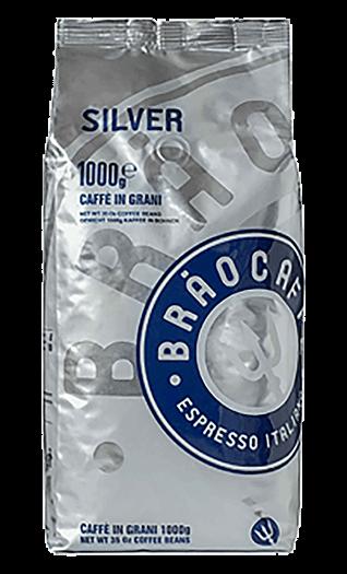 Brao Kaffee Espresso - Silver Bohnen 1kg