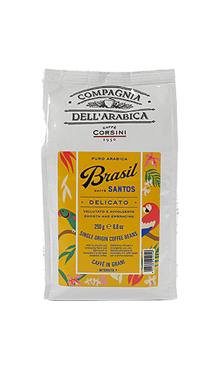 Caffe Corsini Kaffee Espresso - Brasil Santos Bohnen 250g