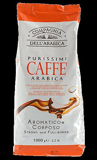 Caffe Corsini Kaffee Espresso - Purissimi 100% Arabica Bohnen 1kg