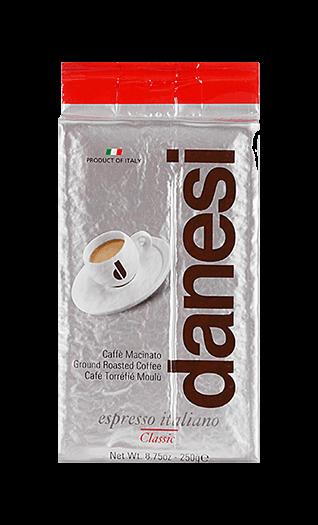 Danesi Kaffee Espresso - Classic gemahlen 250g