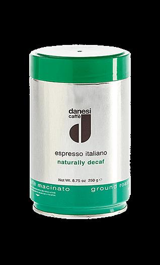 Danesi Kaffee Espresso - Decaffeinato gemahlen 250g Dose