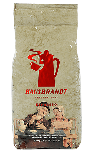 Hausbrandt Kaffee Espresso - Nonnetti Bohnen 1kg
