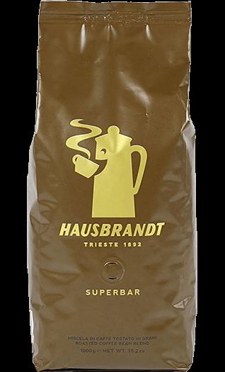 Hausbrandt Kaffee Espresso - Superbar Bohnen 1kg