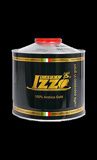 Izzo Kaffee Espresso - Arabica Gold Bohnen 1kg Dose