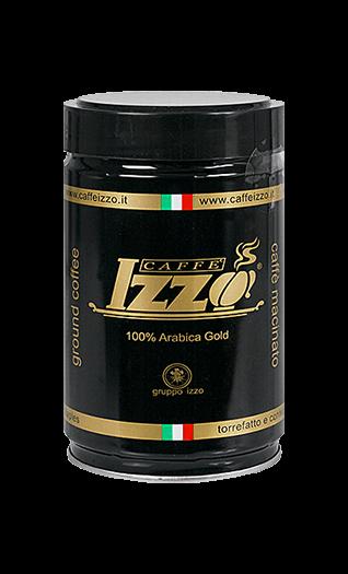 Izzo Kaffee Espresso - Arabica Gold gemahlen 250g Dose