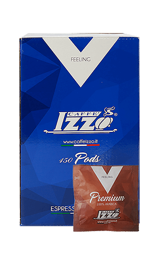 Izzo Kaffee Espresso - Arabica Gold Pads 150 Stück