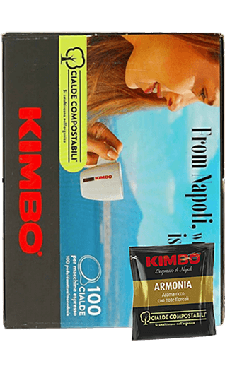 Kimbo Kaffee Espresso - Armonia Pads 100 Stück