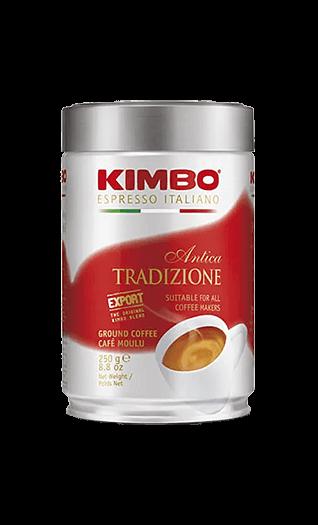 Kimbo Kaffee Espresso - Antika Tradizione gemahlen 250g