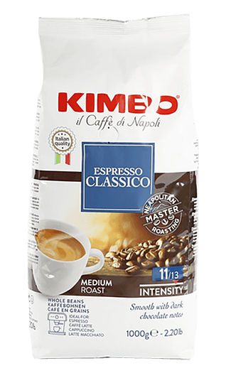 Kimbo Kaffee Espresso - Classico Bohnen 1kg