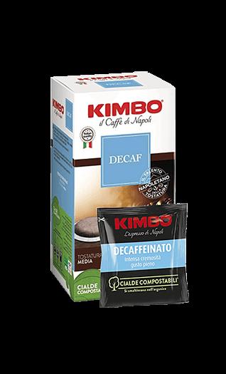 Kimbo Kaffee Espresso - Decaffeinato Pads 50 Stück