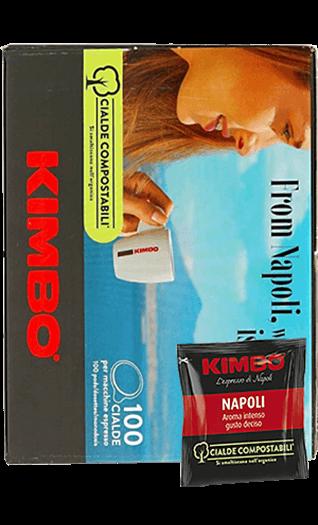 Kimbo Kaffee Espresso - Napoletano Pads 100 Stück