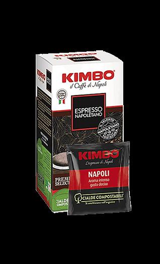 Kimbo Kaffee Espresso - Napoletano Pads 18 Stück