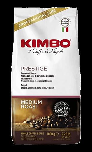 Kimbo Kaffee Espresso - Prestige Bohnen 1kg