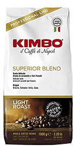 Kimbo Kaffee Espresso - Superior Blend Bohnen 1kg