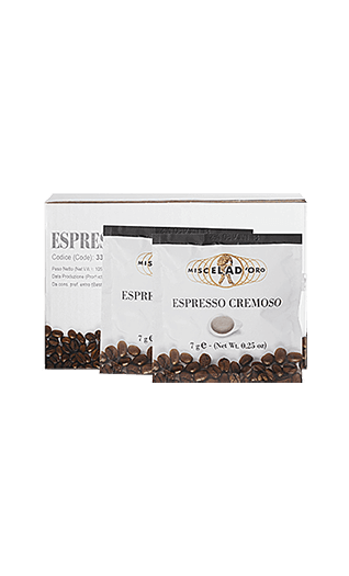 Miscela d'Oro Kaffee Espresso - Cremoso Pads 150 Stück