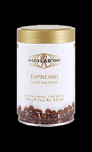 Miscela d'Oro Kaffee Espresso - Macinato gemahlen 250g Dose