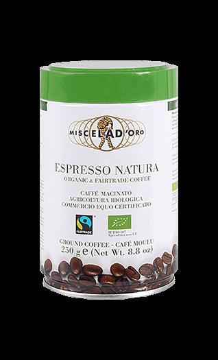 Miscela d'Oro Kaffee Espresso - Natura gemahlen 250g Dose