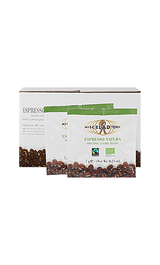 Miscela d'Oro Kaffee Espresso - Natura Pads 150 Stück