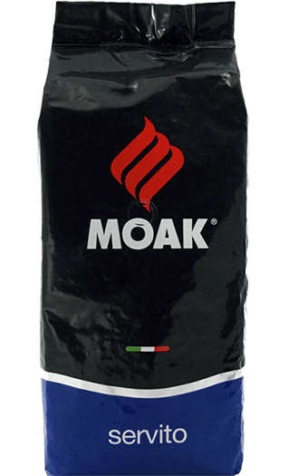 Moak Kaffee Espresso - Servito Bohnen 1kg