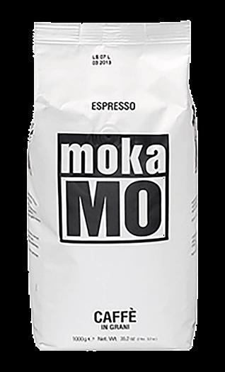 Mokamo Kaffee Espresso - Dolce Bohnen 1kg