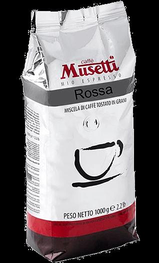 Musetti Kaffee Espresso - Miscela Rossa Bohnen 1kg