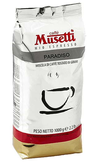 Musetti Caffe Paradiso Bohnen 1kg