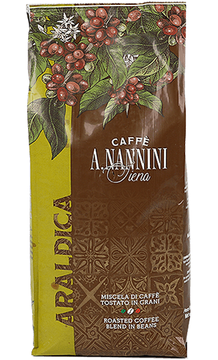 Nannini Caffe Araldica Bohnen 1kg