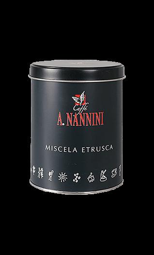 Nannini Caffe Etrusca gemahlen 250g Dose