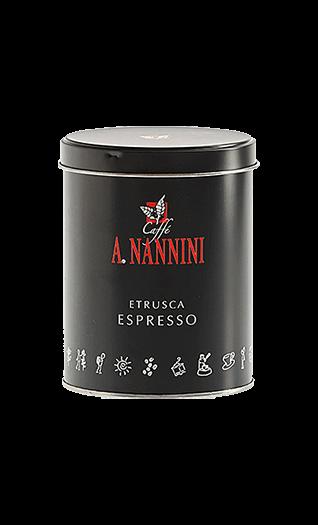 Nannini Caffe Etrusca Bohnen 250g Dose