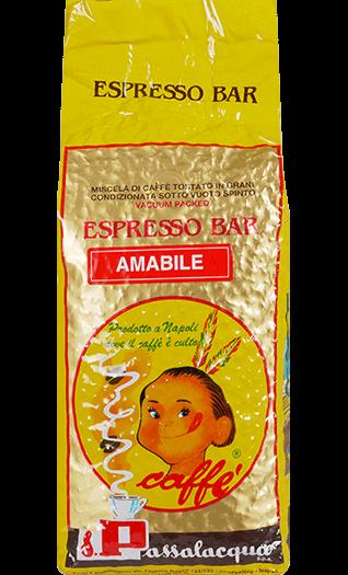 Passalacqua Kaffee Espresso - Amabile Bohnen 1kg