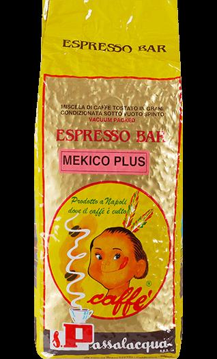 Passalacqua Kaffee Espresso - Mekico Plus Bohnen 1kg
