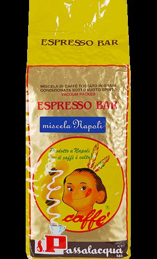 Passalacqua Kaffee Espresso - Miscela Napoli Bohnen 1kg