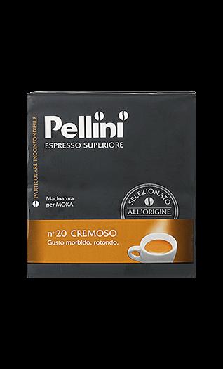 Pellini Kaffee Espresso - N°20 Cremoso gemahlen 500g