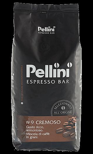 Pellini Kaffee Espresso - N° 9 Cremoso Bohnen 1kg