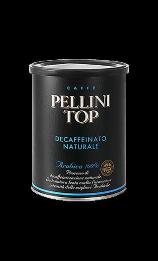 Pellini Kaffee Espresso - Top 100% Arabica Decaffeinato gemahlen 250g Dose