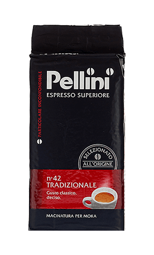 Pellini Kaffee Espresso - N°42 Tradizionale gemahlen 250g