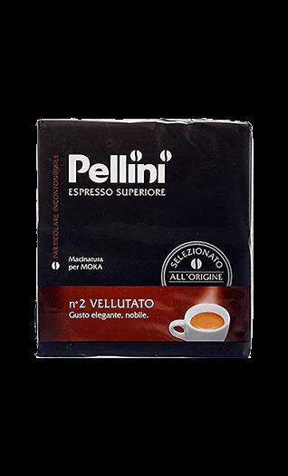 Pellini Caffe N°2 Vellutato 500g gemahlen